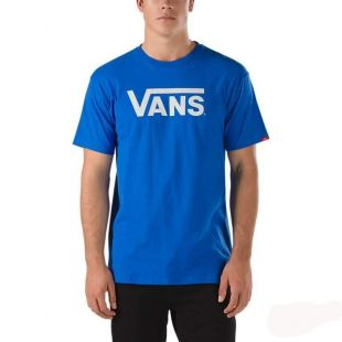 Футболка Vans Classic T-shirt (royal/white)