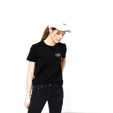 Футболка Vans Full Patch Crew Wmn (black)