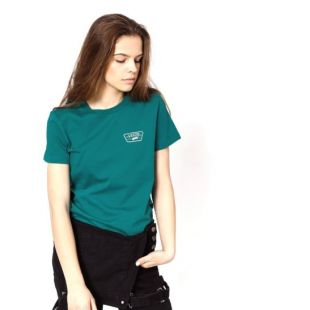 Футболка Vans Full Patch Crew Wmn (quetzal)