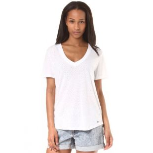 Футболка Volcom Mix A Lot Vneck Wmn (wht)