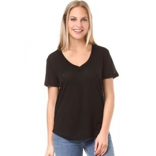 Футболка Volcom Mix A Lot Vneck Wmn (blk)