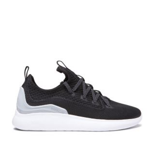 Кеды Supra Factor (black/lt grey white)