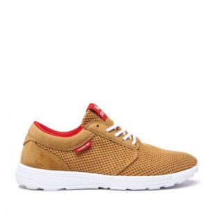 Кеды Supra Hammer Run (tan/risk red white)