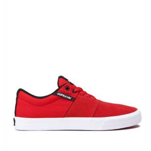 Кеды Supra Stacks II Vulc (risk red white)