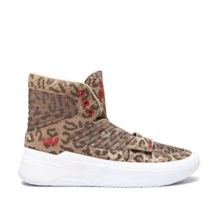 Кеды Supra Theory (animal white)
