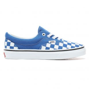 Кеды Vans Era checkerboard lapis blue/true wht