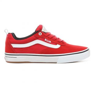 Кеды Vans Kyle Walker Pro red/white