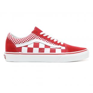 Кеды Vans Old Skool mix checker chili pepper
