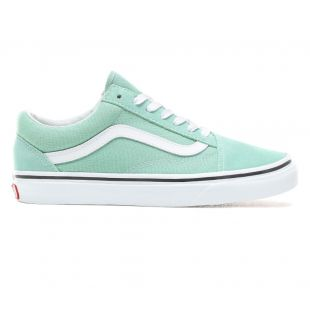 Кеды Vans Old Skool neptune green/true white