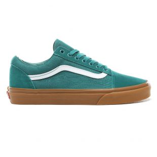 Кеды Vans Old Skool quetzal green/gum
