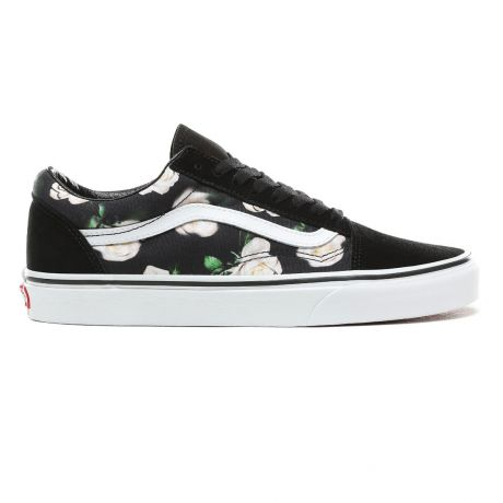 Кеды Vans Old Skool romantic floral black/true white