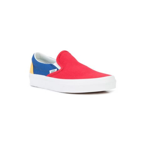 Кеды Vans Classic Slip On (vans/yacht/club/red/blue/yellow)