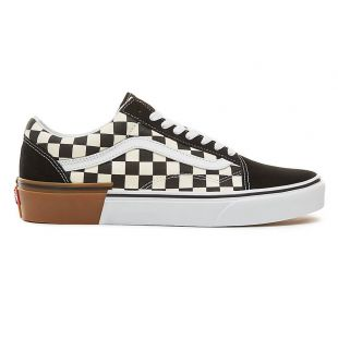 Кеды Vans Old Skool gum block checkerboard