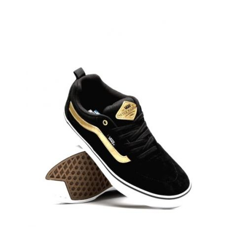 Кеды Vans Kyle Walker Pro (black/metallic/gold)