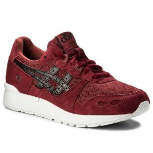 Кеды ASICS Gel Lyte Wmn (burgundy/black)