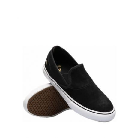 Кеды Emerica Wino G6 Slip On (black/white/gold)