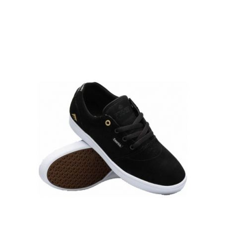 Кеды Emerica Figgy Dose (black/white/gold)