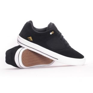 Кеды Emerica Reynolds 3 G6 Vulc (black/white/gold)