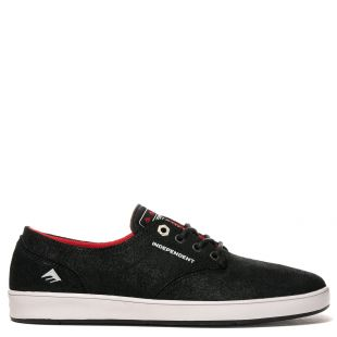 Кеды Emerica Romero Laced X Indy (black/grey/black)