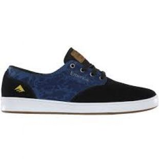 Кеды Emerica The Romero Laced (black/blue)
