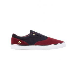 Кеды Emerica Provost Slim Vulc (burgandy/gold)