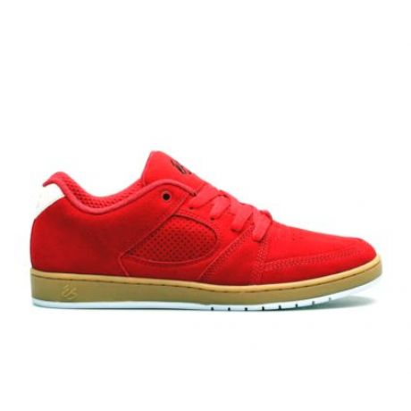 Кеды Es Accel Slim (red/gum)