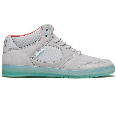 Кеды Es Accel Slim Mid X Dgk (grey/blue)