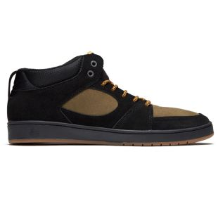 Кеды Es Accel Slim Mid (black/brown)