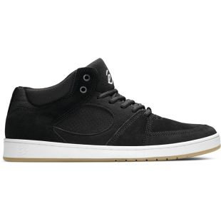 Кеды Es Accel Slim Mid (black/white/gum)