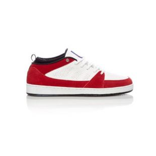 Кеды Es Slb Mid (white/red)