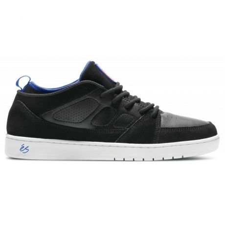Кеды Es Slb Mid (black/white/royal)