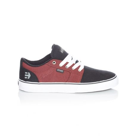 Кеды Etnies Barge Ls (black/white/burgundy)