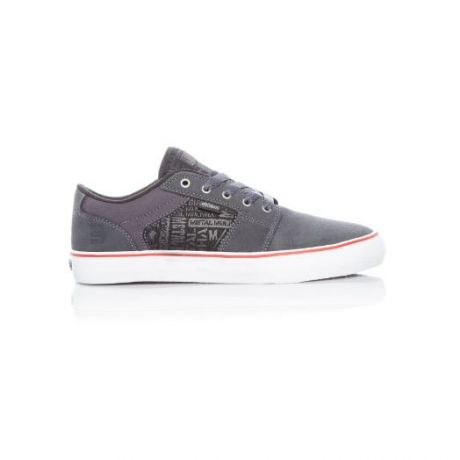 Кеды Etnies Metal Mulisha Barge Ls (grey/black/white)