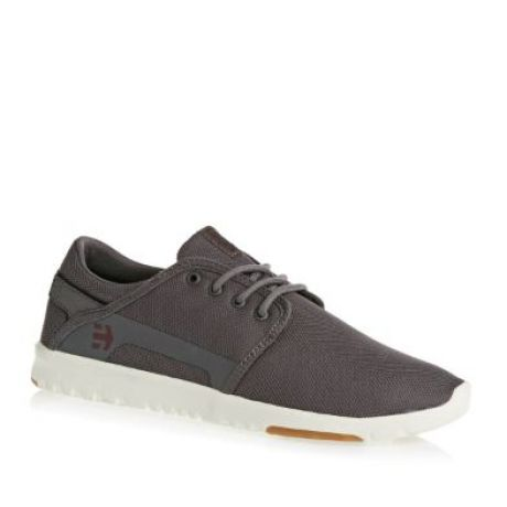 Кеды Etnies Scout (dark grey/red)