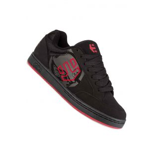 Кеды Etnies Metal Mulisha Swivel (black/black/red)