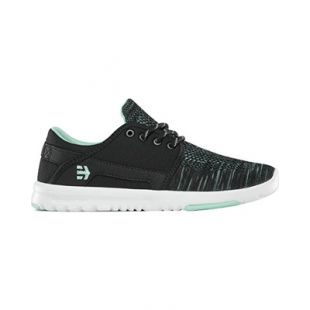 Кеды Etnies Scout Yb Wmn (black/green/white)
