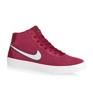 Кеды Nike SB Bruin Hi Wmn (red crush/vast grey white)