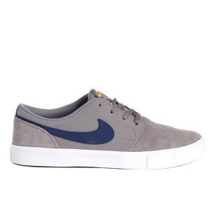 Кеды Nike SB Solarsoft Portmore II (gunsmoke/blue void black)