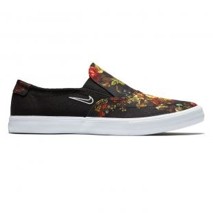 Кеды Nike SB Solarsoft Portmore II Slip black/white-multi-color