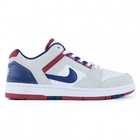 Кеды Nike SB Air Force II Low (white/blue void red crush white)