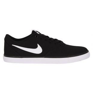 Кеды Nike SB Check Solar (black/white)