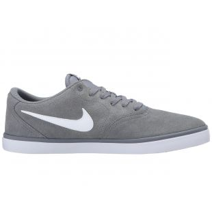 Кеды Nike SB Check Solar (cool grey/white)
