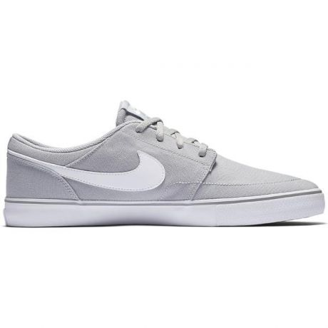 Кеды Nike SB Solarsoft Portmore II Canvas (wolf grey)