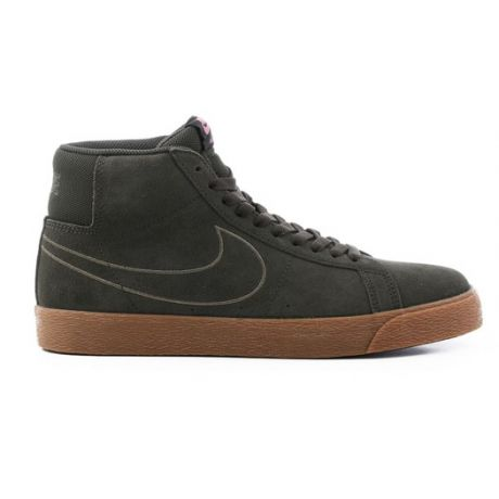 Кеды Nike SB Zoom Blazer Mid (sequoia/sequoia medium)