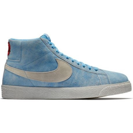 Кеды Nike SB Zoom Blazer Mid (university blue/light bone habanero red)