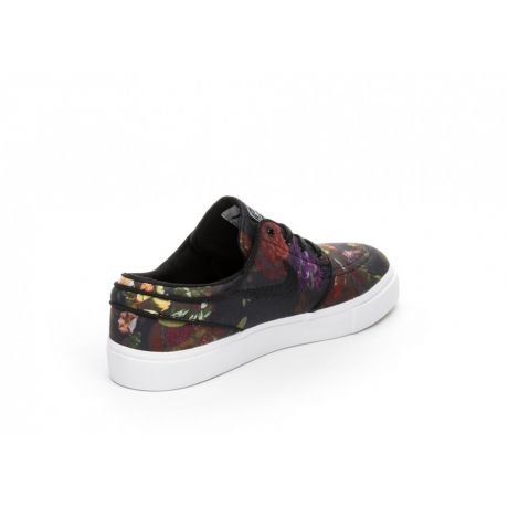 Кеды Nike SB Zoom Sb Stefan Janoski Canvas (multi color/black white gum light brown)