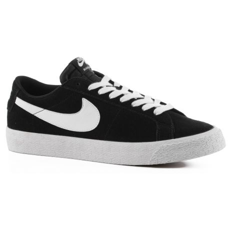 Кеды Nike SB Zoom Blazer Low (black/white gum light brown)