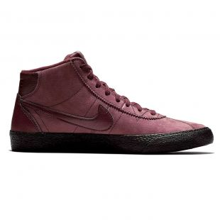 Кеди Nike SB Bruin Hi burgundy crush/burgundy crush