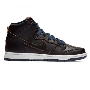 Кеды Nike SB Dunk High Pro Nba black/black-college navy-team rd