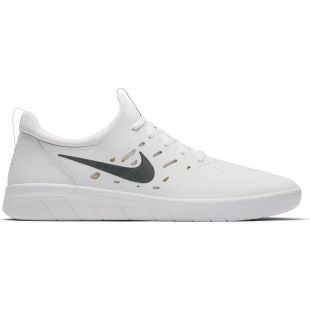 Кеди Nike SB Nyjah Free summit white/anthracite-lmn wash